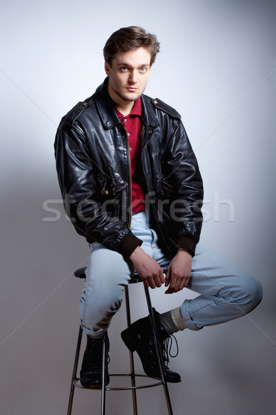 Portrait of a Young Man. Stock photo © courtyardpix