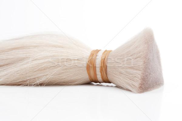 реальный человека волос используемый производства Сток-фото © courtyardpix