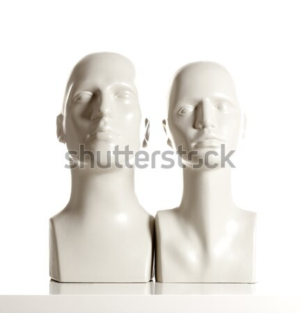 Stock photo: Mannequin Female Head for Displaying Wigs
