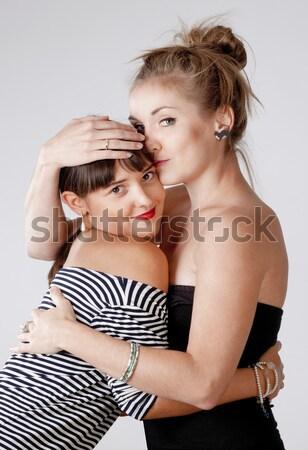 two lesbian women Stock photo © courtyardpix