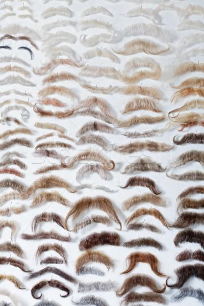 театра магазине парик усы цвета мужчины Сток-фото © courtyardpix