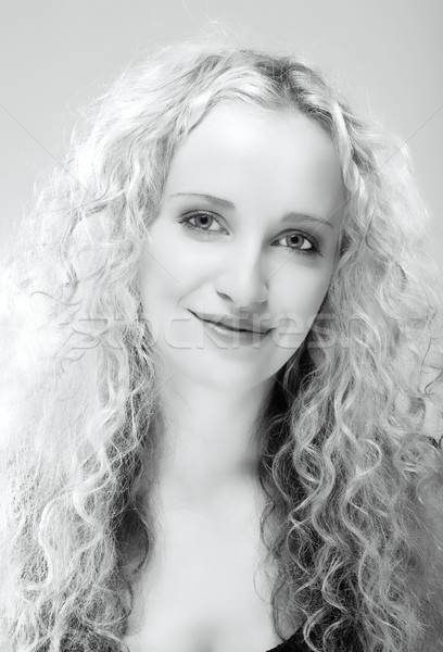 Portrait of a Young Woman with Blond Hair  Stock photo © courtyardpix
