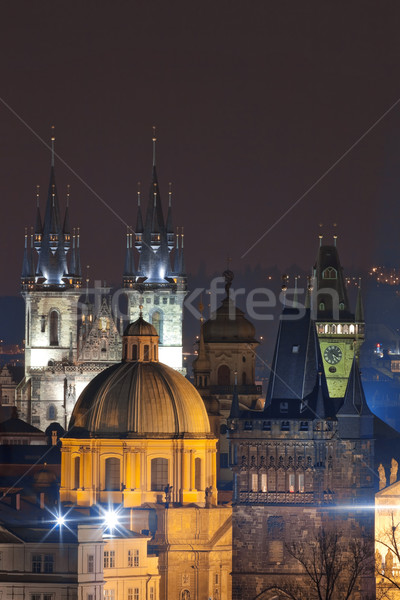 czech republic, prague Stock photo © courtyardpix