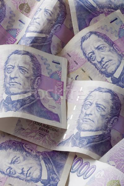 czech currency Stock photo © courtyardpix