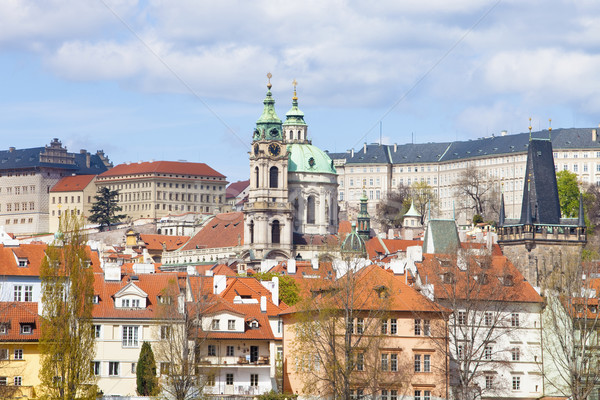 Stock photo: prague - st. nicholas church