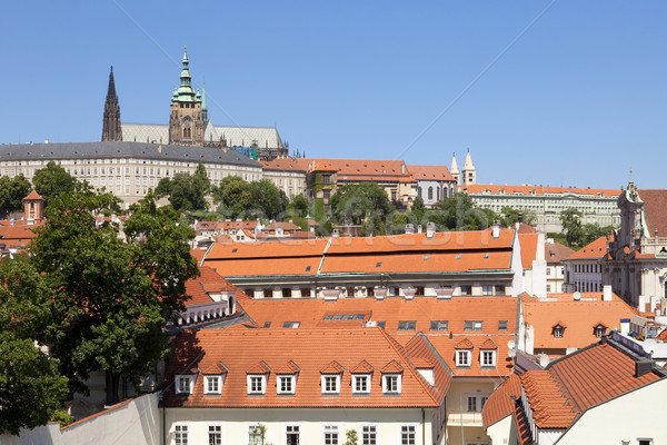 Stock photo: prague, hradcany castle