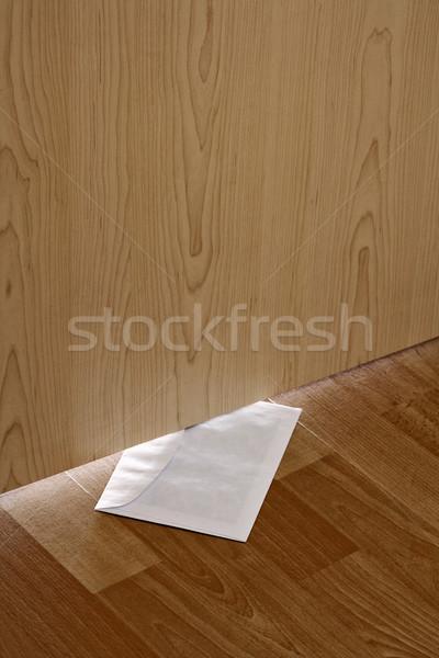letter under door Stock photo © courtyardpix