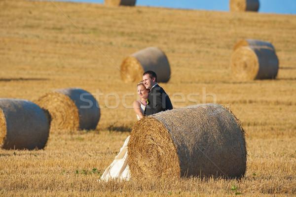 just married couple Stock photo © courtyardpix