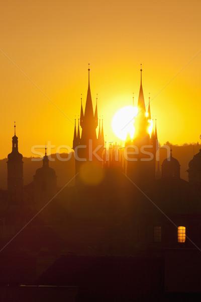 czech republic, prague Stock photo © courtyardpix