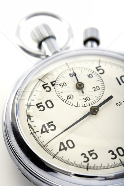 closeup of a stopwatch Stock photo © courtyardpix