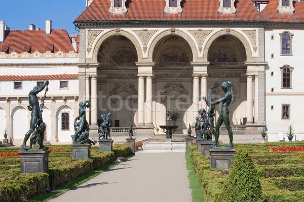 prague, wallenstein garden Stock photo © courtyardpix