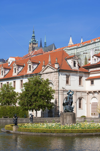 prague, wallenstein garden Stock photo © courtyardpix