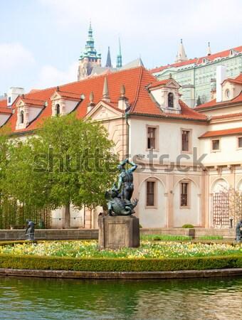 prague, valdstejnska garden Stock photo © courtyardpix