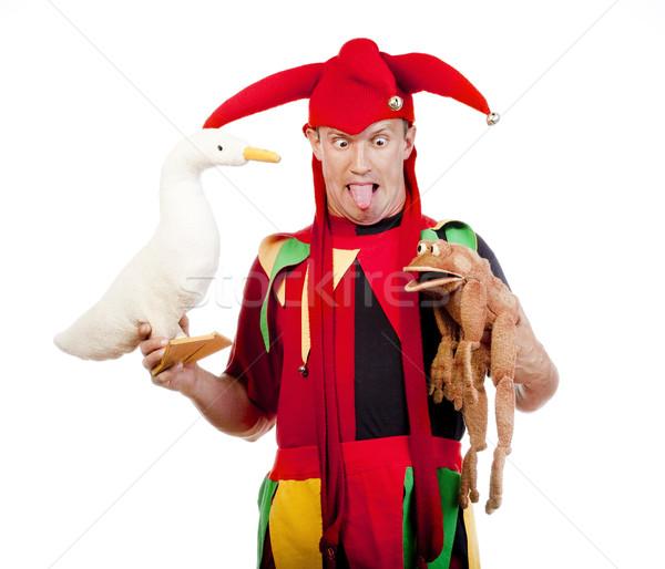 Chiffre typique costume homme drôle Photo stock © courtyardpix