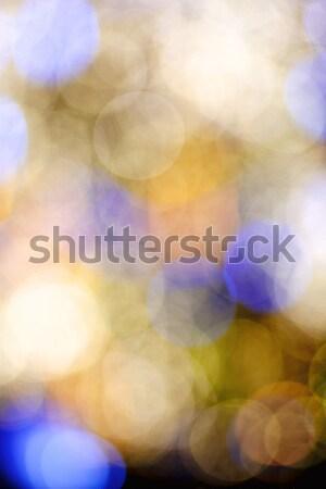 Absztrakt elmosódott bokeh fény fények homály Stock fotó © courtyardpix