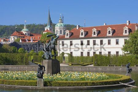 prague, valdstejnska garden Stock photo © courtyardpix
