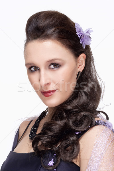 Portrait of Opera Singer  Stock photo © courtyardpix