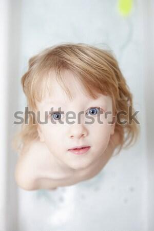 boy in bathtub Stock photo © courtyardpix