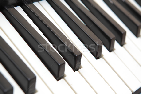 piano keyboard Stock photo © cozyta