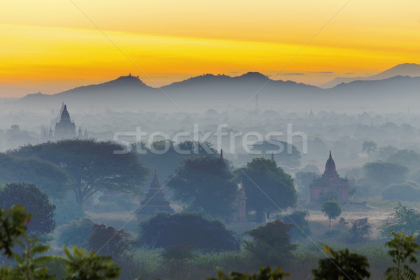 Buddha torre giorno noto luogo Myanmar Foto d'archivio © cozyta