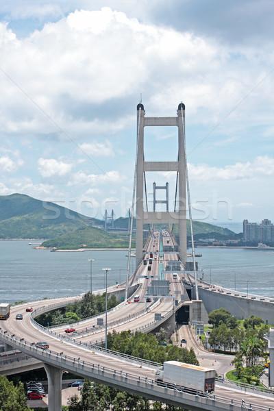 Tsing ma bridge Stock photo © cozyta