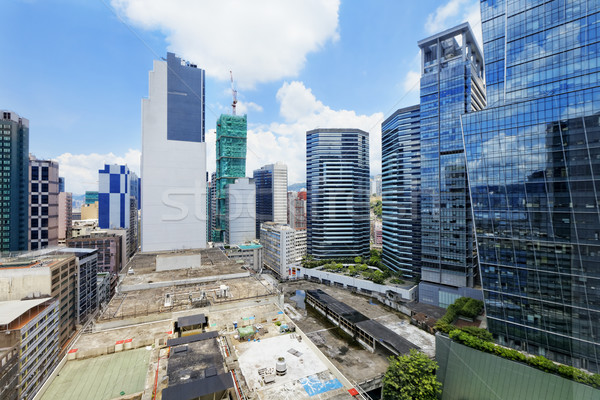 office buildings at day, hongkong kwun tong  Stock photo © cozyta