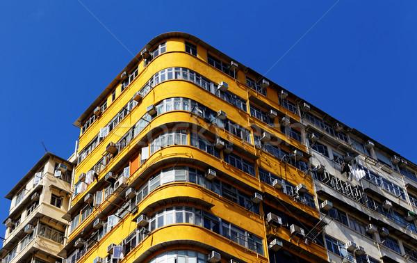 Starych Hongkong centrum dzień uruchomić Zdjęcia stock © cozyta