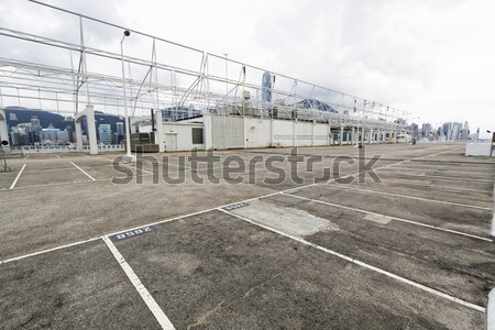 large numbered space parking lot  Stock photo © cozyta
