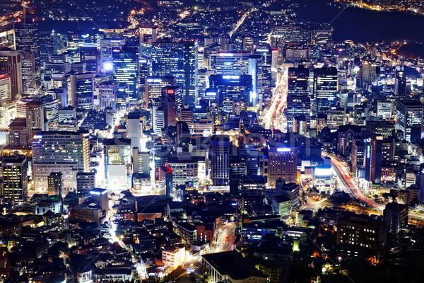 korea night Stock photo © cozyta