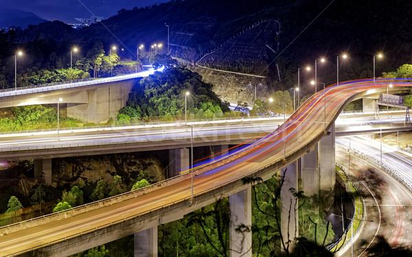 Evening traffic. Stock photo © cozyta
