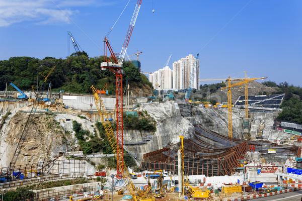 Construction Site Stock photo © cozyta