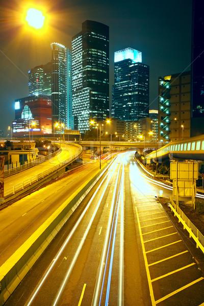 modern urban city at night  Stock photo © cozyta
