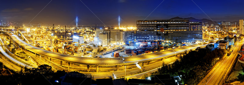 Kwai Tsing Container Terminals Stock photo © cozyta