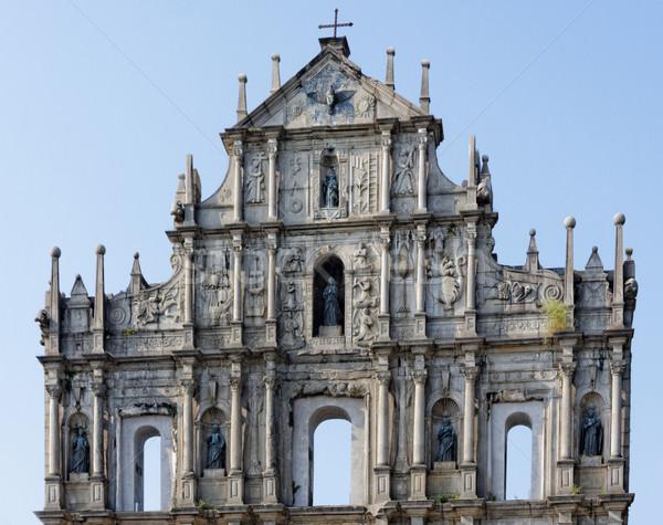 Stock photo: famous landmark in Macau (Macao)