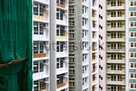 modern monolithic construction Stock photo © cozyta