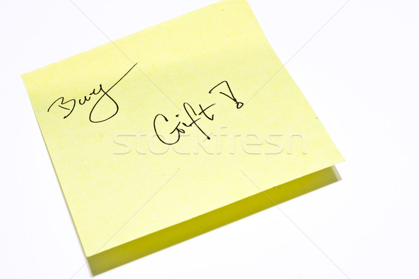 memo paper  Stock photo © cozyta