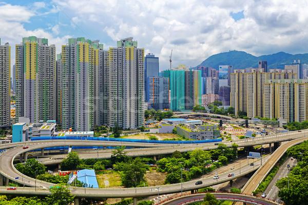 Гонконг общественного ориентир лев рок Сток-фото © cozyta