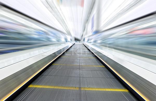 Zdjęcia stock: Ruchu · schodach · nowoczesne · obraz · biuro