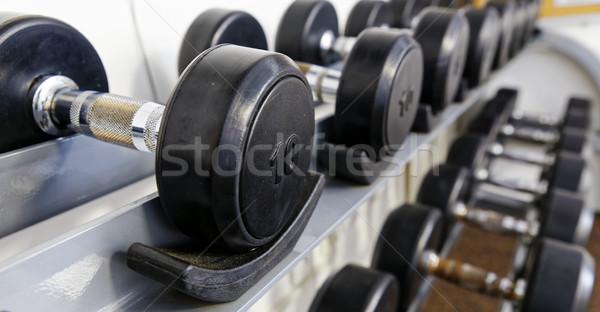 Foto stock: Deportes · pesas · moderna · club