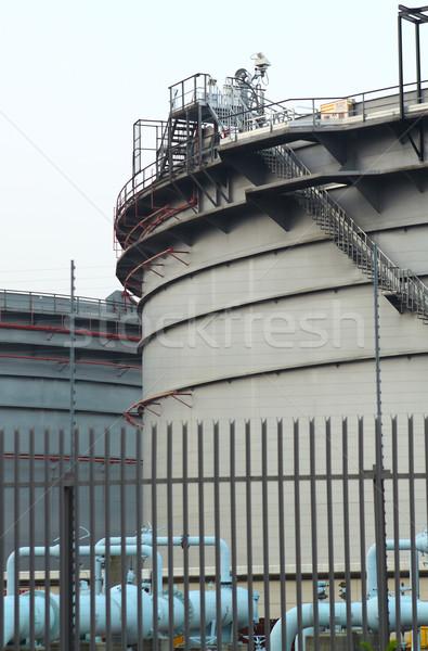 Stok fotoğraf: Gaz · endüstriyel · süspansiyon · enerji · taşımacılık