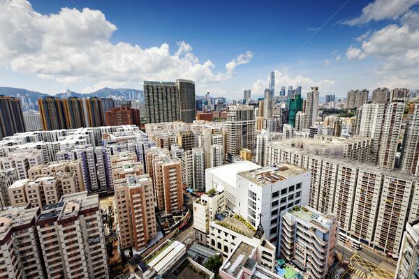 Hong Kong business center Stock photo © cozyta