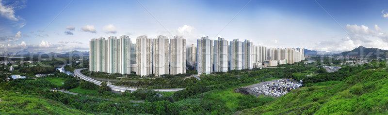 Public Estate in Hong Kong  Stock photo © cozyta