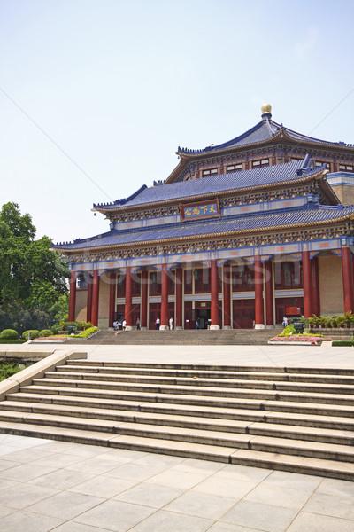 Sole sala Cina cielo fiori casa Foto d'archivio © cozyta