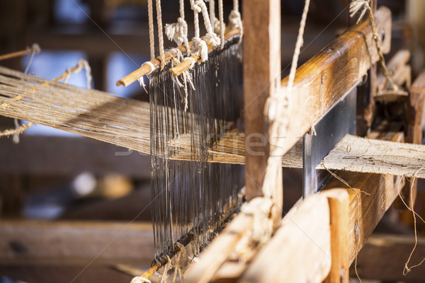 woman Weaving Stock photo © cozyta
