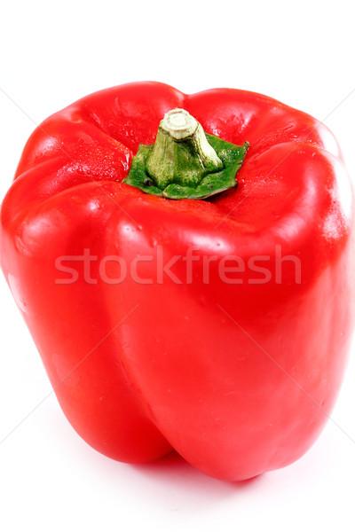 Rosso pepe alimentare dolce pasto taglio Foto d'archivio © cozyta