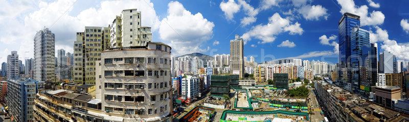 Hong Kong Day, Kwun Tong distract Stock photo © cozyta