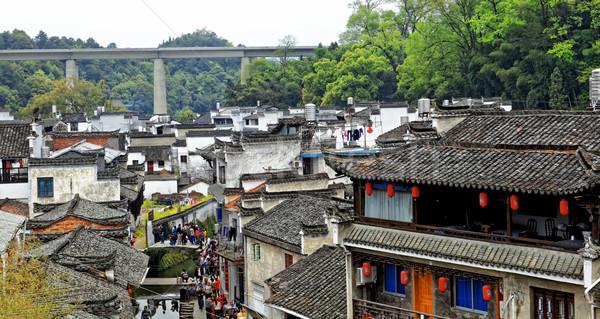 Wuyuan County Stock photo © cozyta