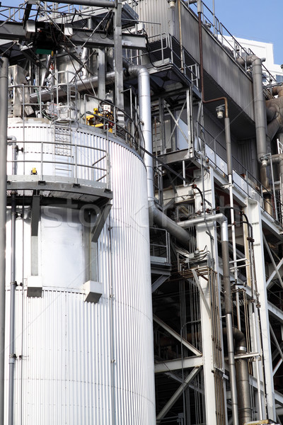 Part of a big oil refinery Stock photo © cozyta