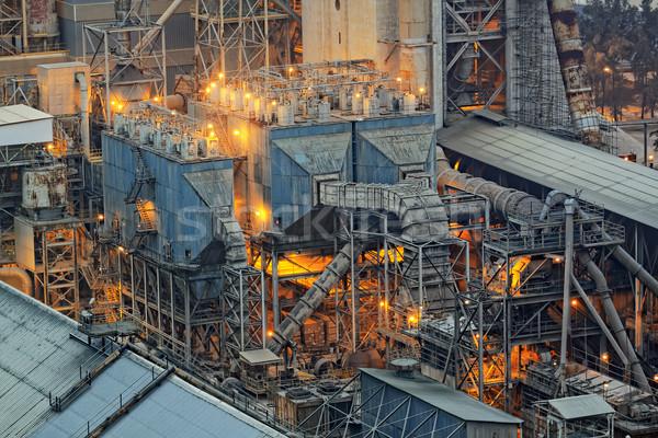 cement plant Stock photo © cozyta