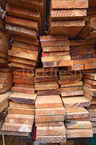 Stack of lumber  Stock photo © cozyta